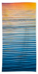 Sunrise Abstract  Bath Towel