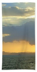 Sunrise After The Typhoon Hand Towel