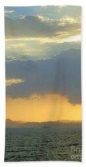 Sunrise After The Typhoon Bath Towel