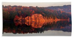 Bath Towel featuring the photograph Sunrise And Harmony by Debbie Oppermann