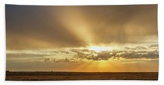 Hand Towel featuring the photograph Sunrise And Wheat 04 by Rob Graham