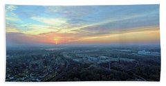 Sunrise At 400 Agl Bath Towel