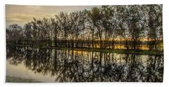 Bath Towel featuring the photograph Sunrise At Brazos by James Woody