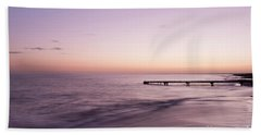 Hand Towel featuring the photograph Sunrise At Busselton by Ivy Ho
