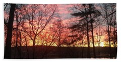 Sunrise At Carolina Trace Hand Towel