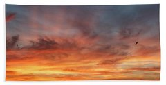 Sunrise At Cheyenne Bottoms 01 Hand Towel by Rob Graham