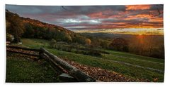 Sunrise At Cone House Hand Towel