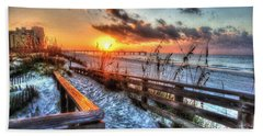 Sunrise At Cotton Bayou  Hand Towel