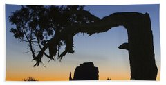 Hand Towel featuring the photograph Sunrise At East Mitten by Jerry Fornarotto