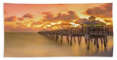 Sunrise At Juno Beach Hand Towel