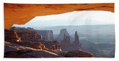 Sunrise At Mesa Arch Hand Towel