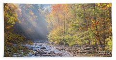 Sunrise At Metcalf Bottoms Hand Towel