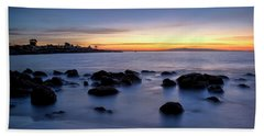 Sunrise At Mitchell's Cove Hand Towel