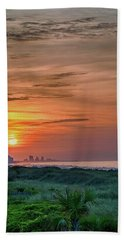 Sunrise At N. Myrtle  Hand Towel