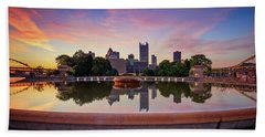 Sunrise At Point State Park Bath Towel