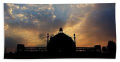 Sunrise At Rumi Gate Bath Towel