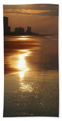 Sunrise At The Beach Hand Towel