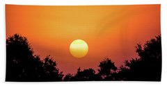 Hand Towel featuring the photograph Sunrise Bliss by Shelby Young