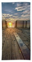 Sunrise Boardwalk Bath Towel
