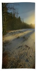 Sunrise Brings Hope For A New Day Hand Towel by Rose-Marie Karlsen