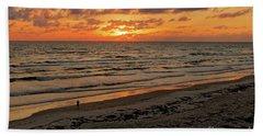 Hand Towel featuring the photograph Sunrise Daytona by Paul Mashburn