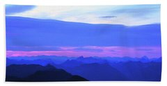 Sunrise From Pilchuck Summit Hand Towel