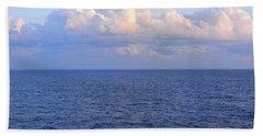 Sunrise From The Atlantic Ocean Hand Towel