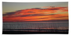 Sunrise Hand Towel by Gordon Mooneyhan