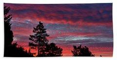 Sunrise In Anchor Bay Hand Towel