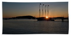Sunrise In Bar Harbor Hand Towel