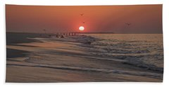 Sunrise In Cape May Hand Towel