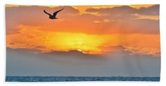 Sunrise In Nags Head Hand Towel