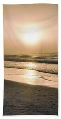 Hand Towel featuring the photograph Sunrise In Orange Beach  by John McGraw