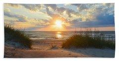 Sunrise In South Nags Head Bath Towel