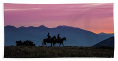 Sunrise In The Lost River Range Wild West Photography Art By Kay Bath Towel