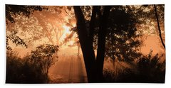 Sunrise In The Marsh 3 Hand Towel