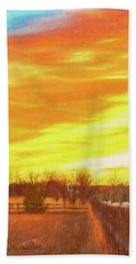 Sunrise Hand Towel