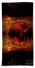 Sunrise  Hand Towel by Lila Fisher-Wenzel