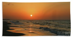 Sunrise Mexico Beach 3 Hand Towel