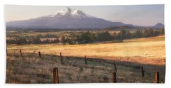 Sunrise Mount Shasta Hand Towel