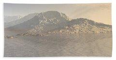 Sunrise Mountains Landscape Bath Towel