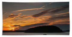 Sunrise On Bar Harbor #2 Bath Towel