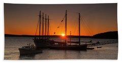 Sunrise On Bar Harbor Bath Towel