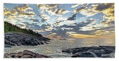 Sunrise On Christmas Cove Bath Towel