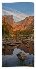 Sunrise On Dream Lake Hand Towel