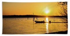 Sunrise On Lake Fork Hand Towel