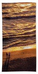 Sunrise On Melbourne Beach Hand Towel