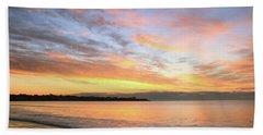 Sunrise On Middletown Rhode Island Hand Towel by Roupen  Baker
