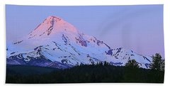 Sunrise On Mt. Hood Hand Towel