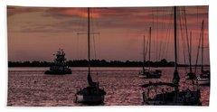 Sunrise On Sarasota Bay, Bradenton Beach Bath Towel